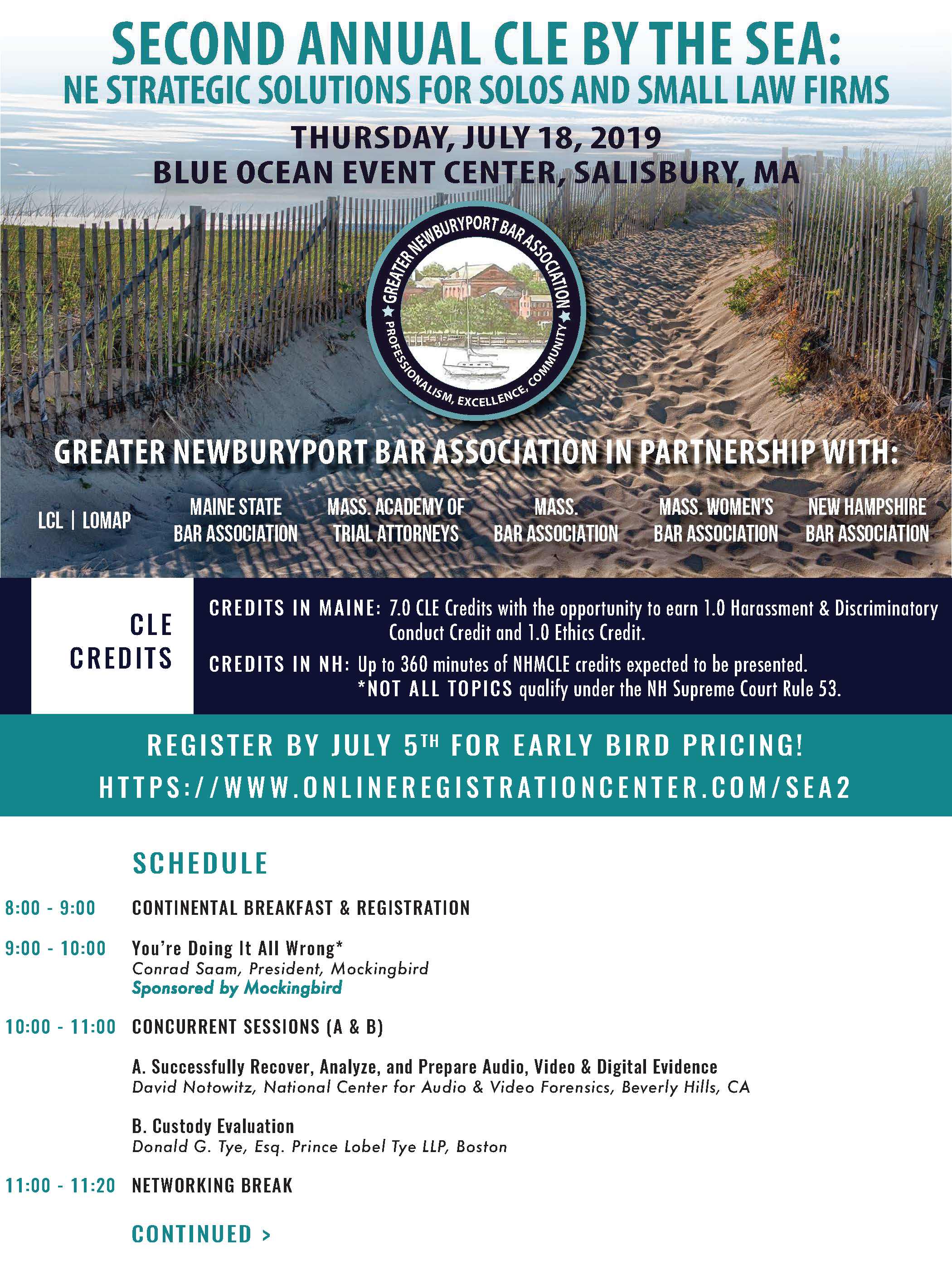 2nd Annual CLE by the Sea: NE Strategic Solutions for Solo +